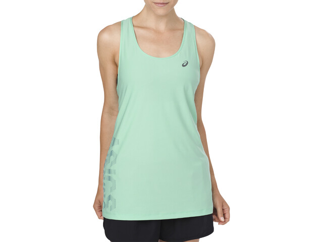 asics Graphic Top Kobiety, opal green